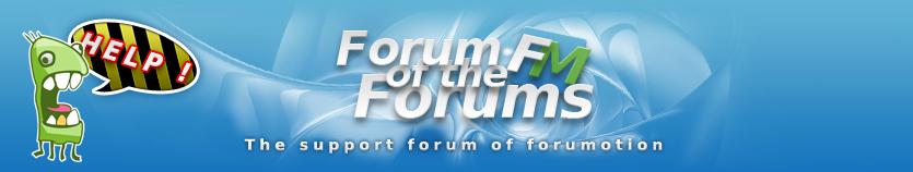 Forumotion.com banner,logo,image