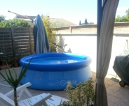 Piscine autoport e 2m44 for Piscine boudin gifi