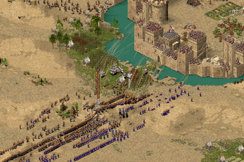 Stronghold Crusader HD5