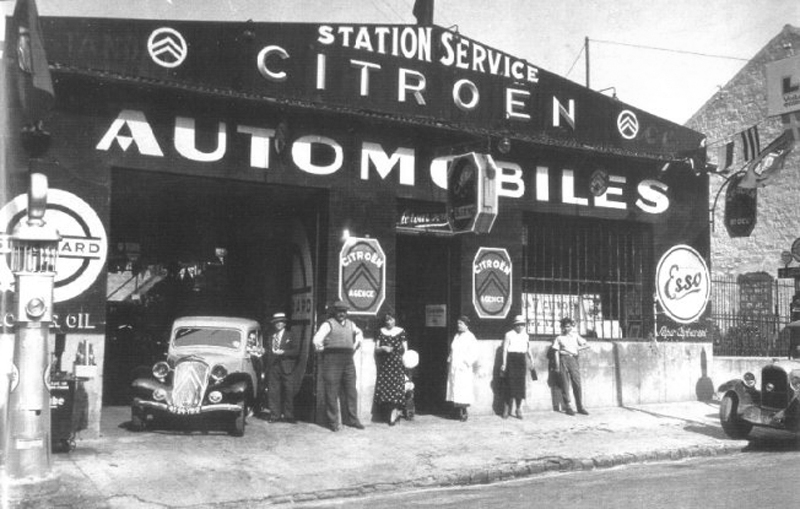 Garages citro n avant guerre for Garage citroen les angles 30