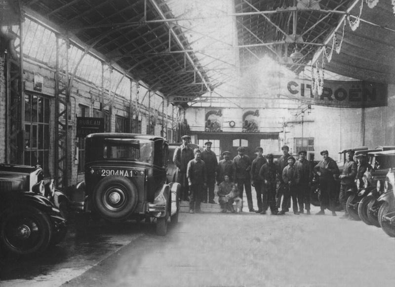Garages citro n avant guerre for Garage citroen champigny sur marne