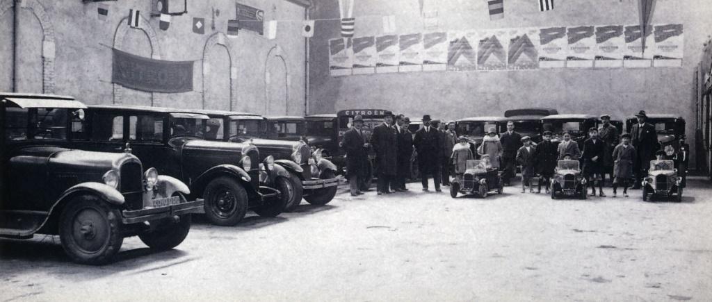 Garages citro n avant guerre for Garage citroen poitiers sud