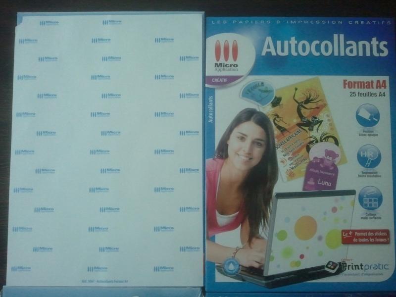 D coupe d autocollants muraux avec imprimante et crafty for Papier imprimante autocollant exterieur