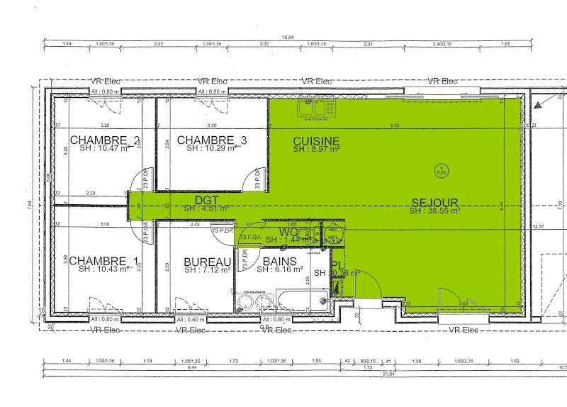 largeur couloir maison home design architecture. Black Bedroom Furniture Sets. Home Design Ideas