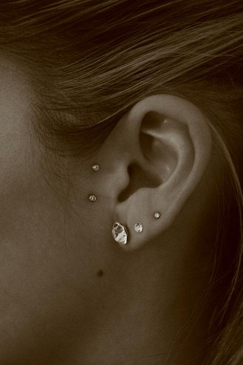 Bien connu Piercing surface oreille - Tatouages et piercings RU15