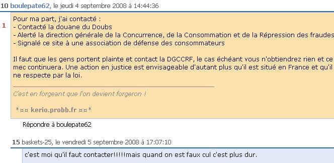 baskets-25.fr arnaque
