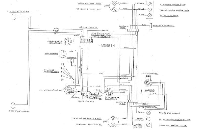 T17652 Shema Electrique Mf 145