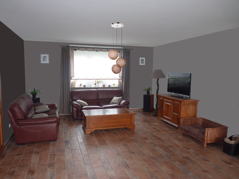 passer du blanc la couleur salon s jour fini et voil les photos page 1. Black Bedroom Furniture Sets. Home Design Ideas