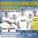 Nueva equipación Real Madrid 2011-2012