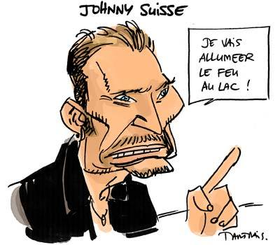 Johnny Dessins Et Caricatures