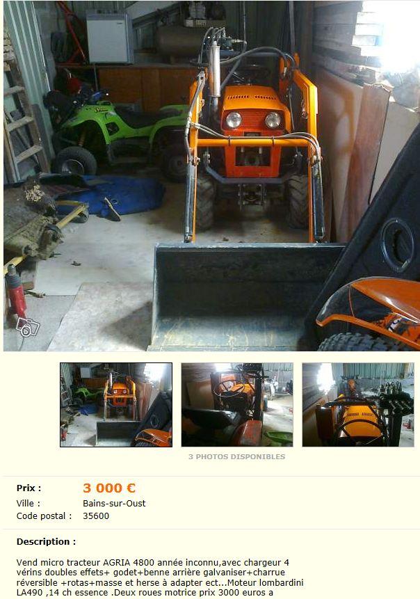 roue gazon micro tracteur