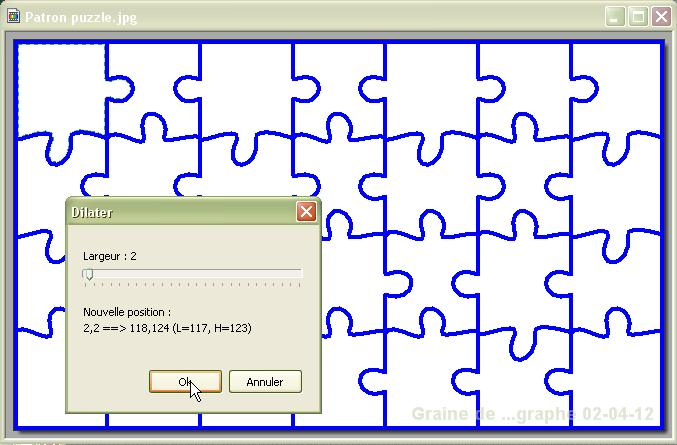 Super Puzzle (image à découper en) HK87