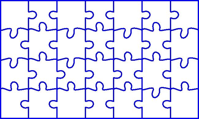 Préférence Puzzle (image à découper en) QT21