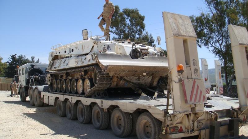 Mon porte char au liban quel pied for Porte char 60 tonnes