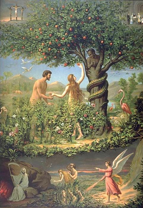 L 39 histoire d 39 adam et eve chasser du jardin d eden for Les decos d eden