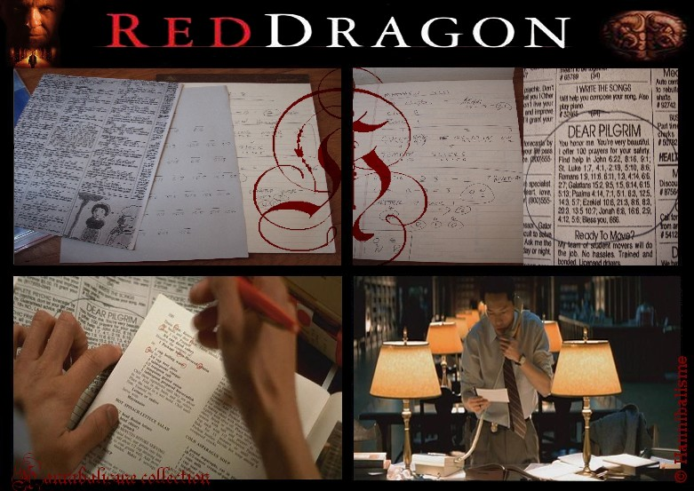 Red Dragon Movie Props