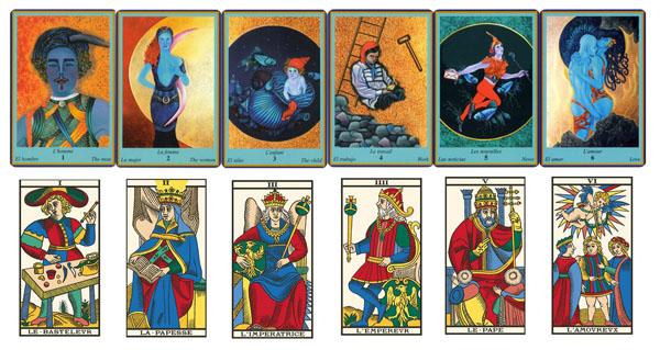 Si on regarde 1 l homme et 2 la femme, le parallèle avec le tarot, le  bateleur et la papesse est possible   chez Kris Hadar, le consultant est  représenté ... 198ac262c931