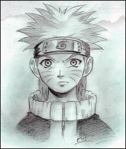 Dessiner un naruto - Comment dessiner sasuke ...