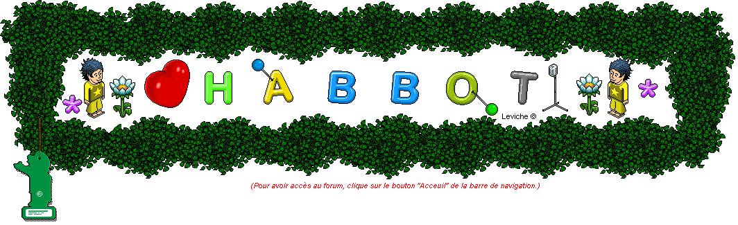 HABBOT | - Nouveau site de fan habbo !