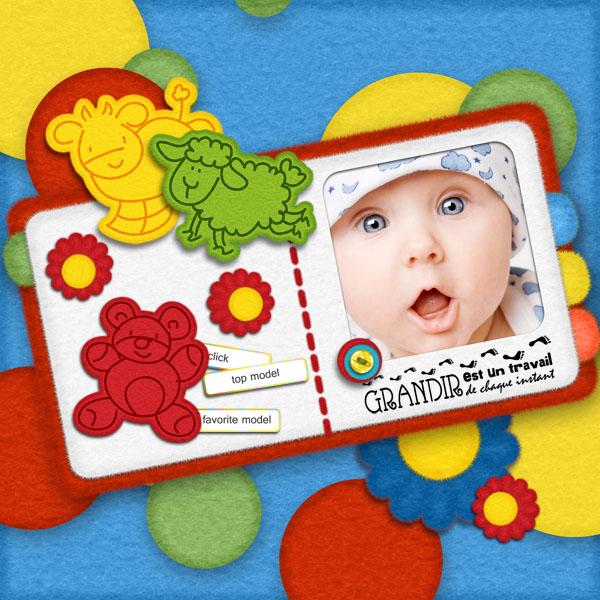 kit bébé grandit simplette page simplette