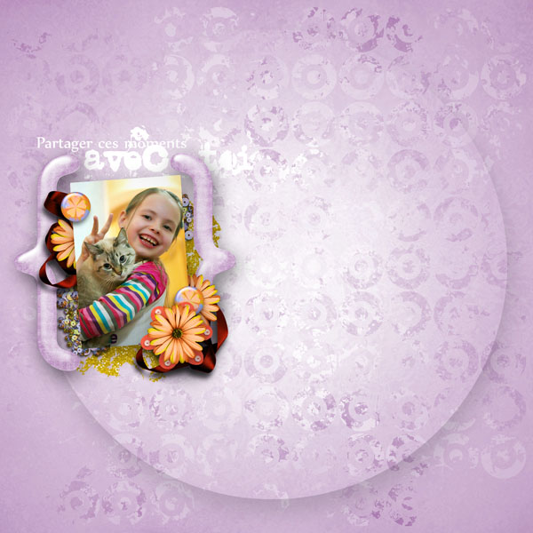 kit sweet flowers collab cajoline simplette page simplette