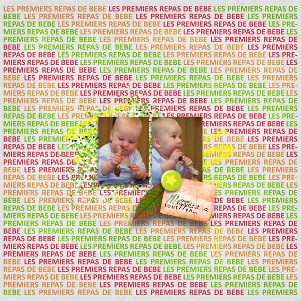kit les repas de bébé simplette page simplette