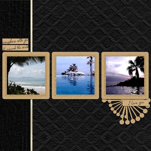 kit memories in kraft papers simplette page simplette