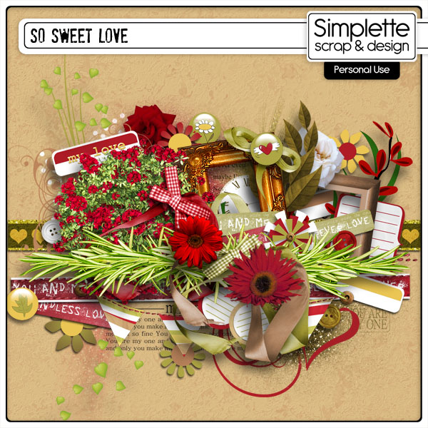 so sweet love kit by simplette