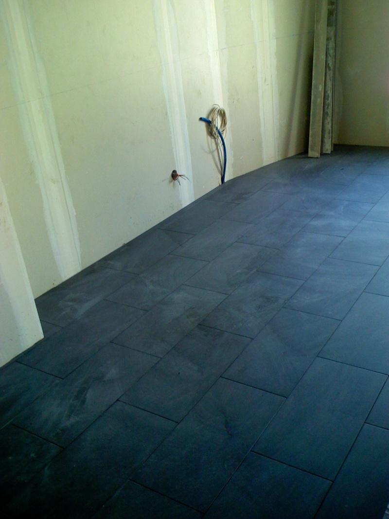 quel plan de travail avec cuisine noire laque et sol noir lilyb1974. Black Bedroom Furniture Sets. Home Design Ideas