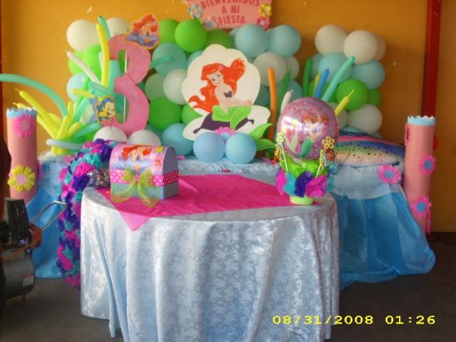 Decoraciones para fiestas de la Sirenita - Imagui