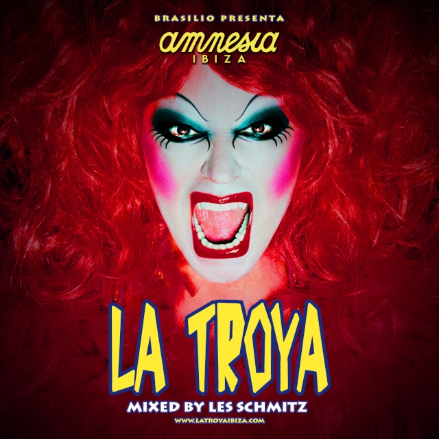 La Troya Ibiza 2012 - CD & Digital Album (Pub)