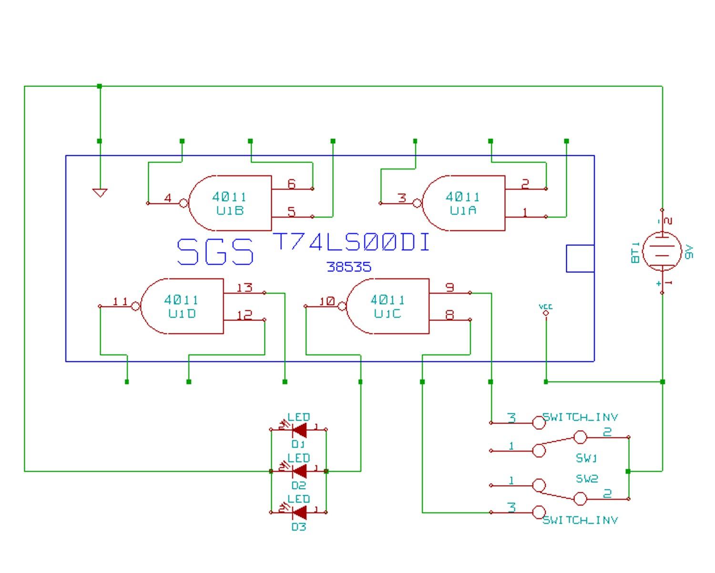 Porte logique illogique electronique robot maker for Porte logique or
