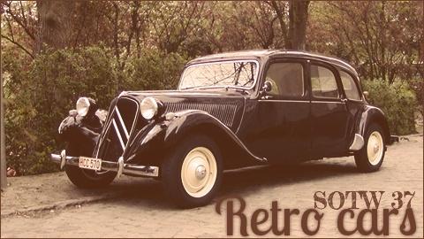image retro cars SOTW