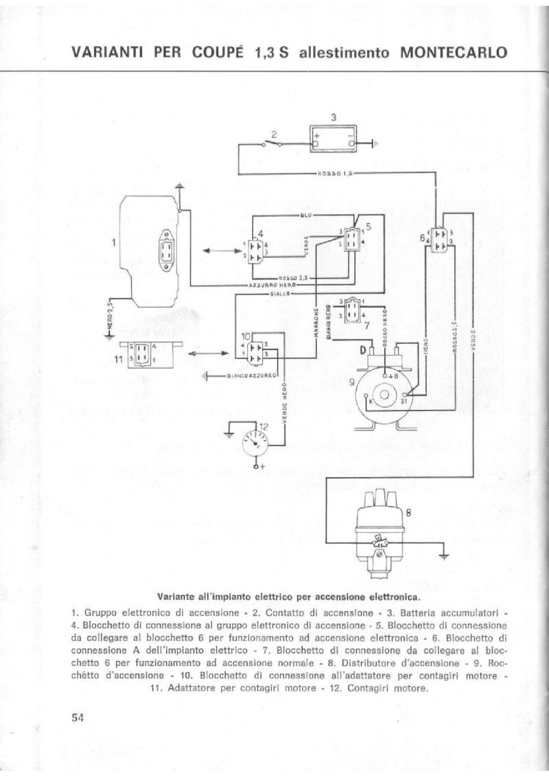 Schema Elettrico Per Doppia Accensione : Cerco accensione elettronica magneti marelli trovata