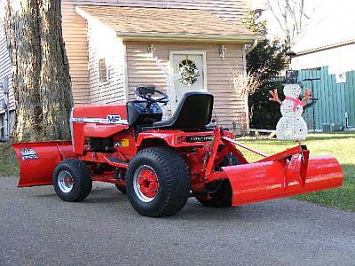 The Moto-Messenger Garden Tractor Forum.