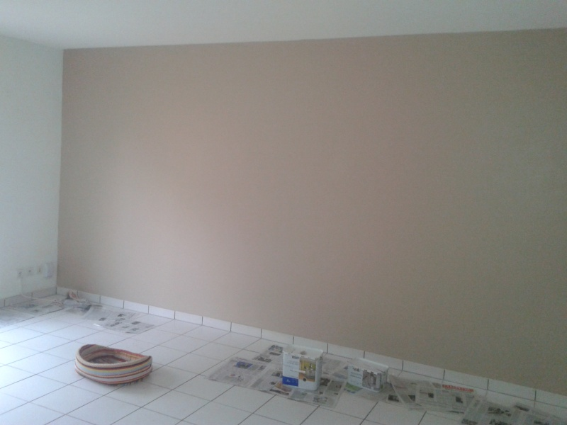Couleur taupe peinture murale for Peinture taupe chambre