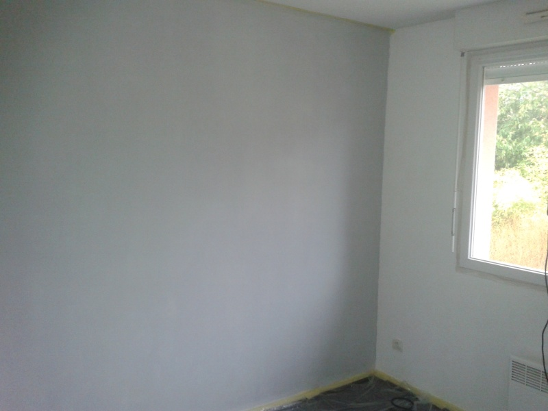 1 er achat notre maison la cuisine - Chambre blanche et taupe ...