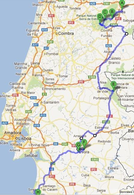 Itineraire Camping Car Cote Atlantique