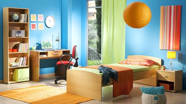 Chambre Garçon Orange Et Bleu – Raliss.com