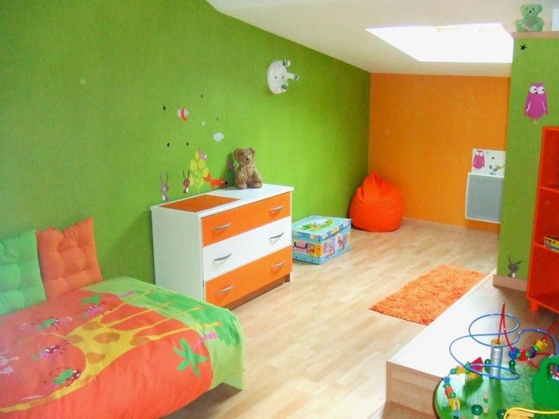 Peinture chambre orange et bleu 172516 la for Peinture chambre petit garcon