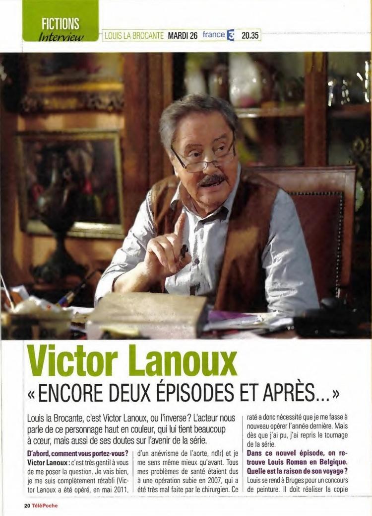 interview victor lanoux