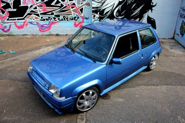Gt turbo bleu ph2 new projet gtt for Renault super 5 interieur