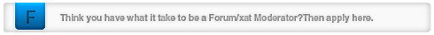 Forum/xat Moderator