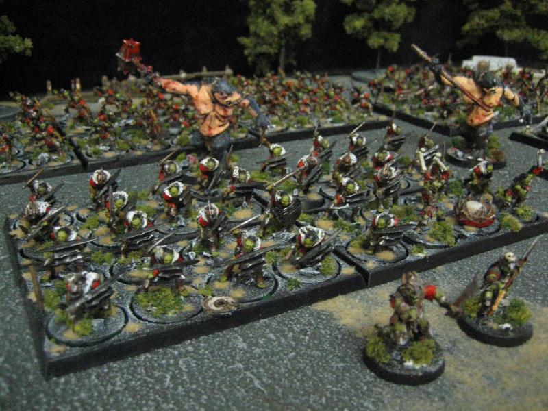 L 39 arm e de gobelins de la moria par quenti 39 nork for Portent warhammer