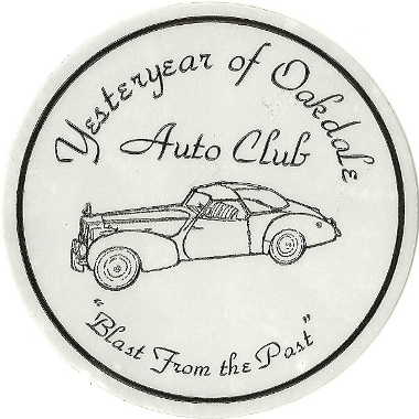 Yesteryear of Oakdale Auto Club