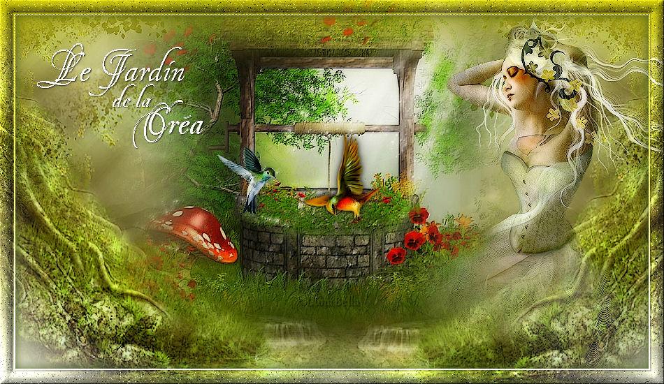 Le jardin de la crea