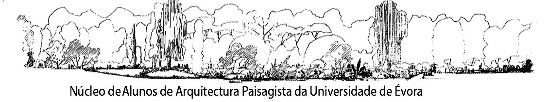 Núcleo de alunos de Arquitectura Paisagista da Universidade de Évora