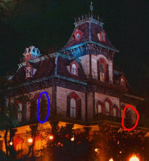 Disneyland paris maison hant e interieur - La maison hantee paris ...