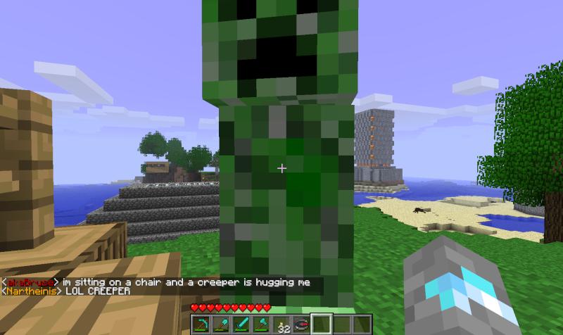 Minecraft Wallpaper Creeper Free Hugs