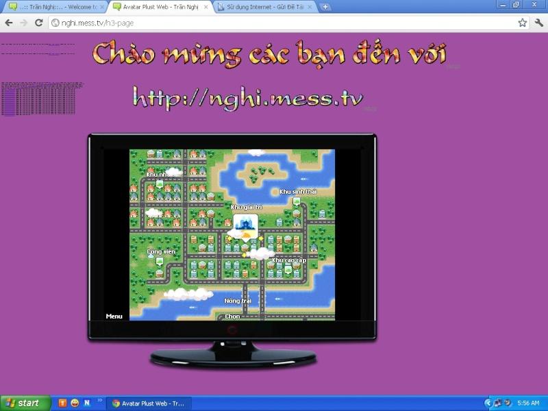 Chú ý: chơi avatar phus ngay trên web, ko cần down, ko cần cài đặt, ....